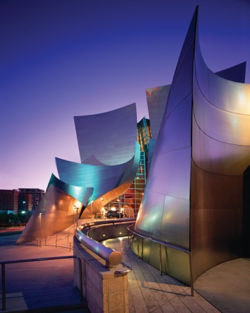 Frank Gehry - Disney Concert Hall by Julius Shulman and Juergen Nogai